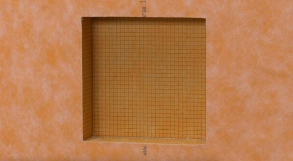 Schlüter KERDIE-BOARD-N - im zehnten Schritt schneidest du mit einem Teppichmesser die Öffnung des Boards und kannst sofort mit den Fliesenarbeiten loslegen.