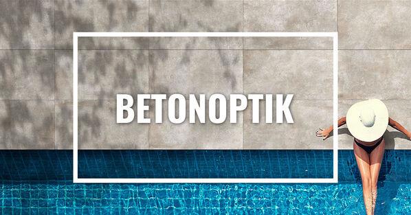 Terrassenplatten in Betonoptik