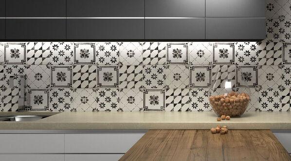 Holen Sie ein Stück Italien in Ihre Räume: Del Conca Sorrentina Dekormix, 20x20 cm.