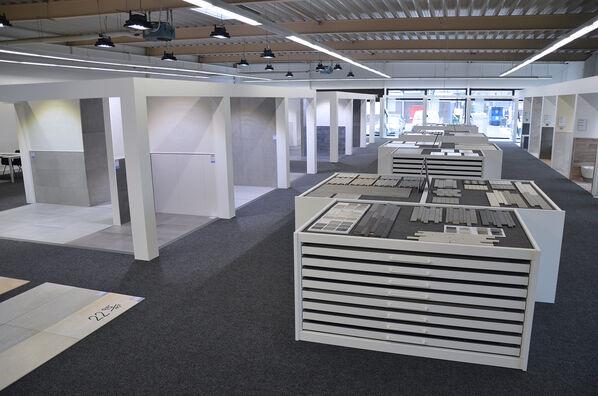 Fliesenrabatte 800 m² Ausstellung in Münster