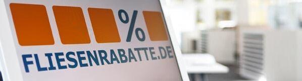 Fliesenrabatte Logo und Fliesenausstellung in Dortmund