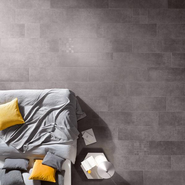 Ausdrucksstärke hat die Serie Steuler Thinsation besonders in den dunklen Farben. Steuler Fliesen verleiht Sie Ihren Räumen Charakter!