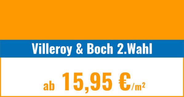 Villeroy & Boch 2. Wahl