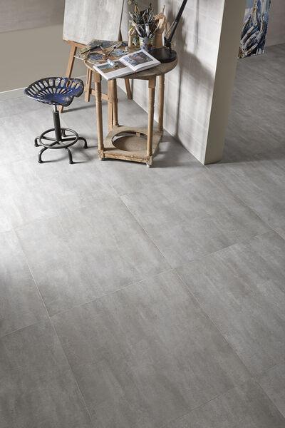 Keraben Frame Blanco 30x90 cemento 75x75