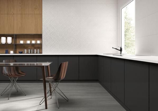 Keraben Essential Linen White 40x120 / Elven Grafito