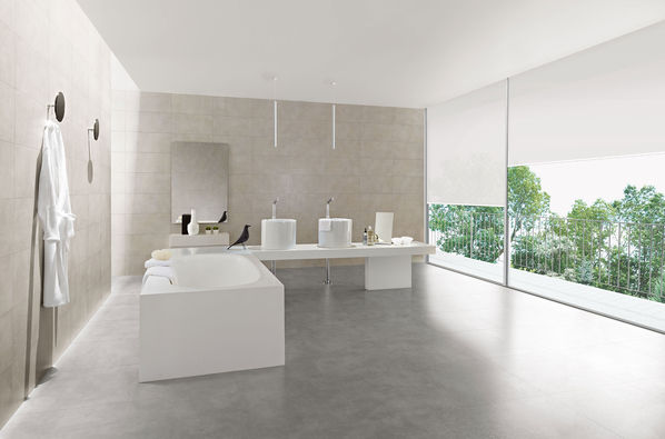 Die Serie Love Tiles Place bietet verschiedene Grautöne, darunter auch Grey.