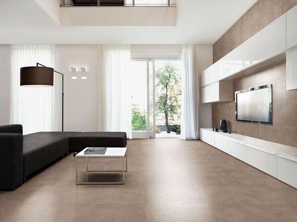 Tortora ist der wärmste Farbton der Serie Love Tiles Place.