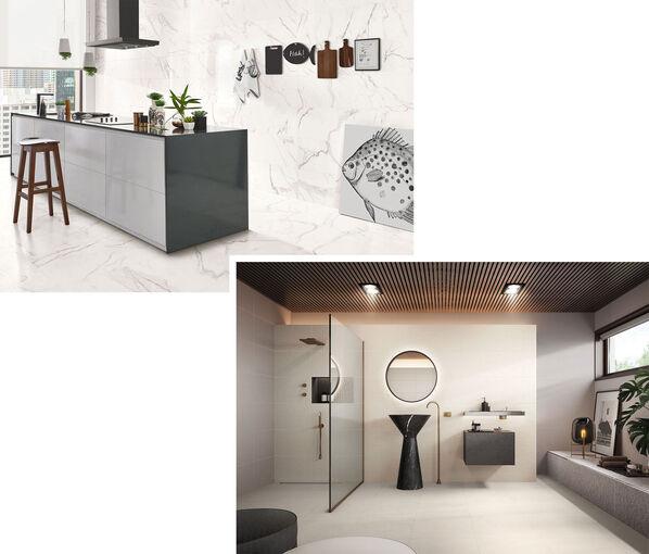 Modern, elegant und luxuriös: Marmoroptik mit Love Tiles Precious.