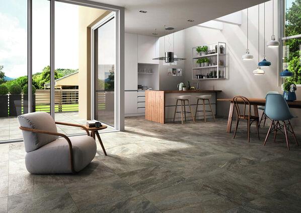 Villeroy & Boch My Earth ist eine der bekanntesten Steinoptik Fliesen Serien für Wand und Boden.