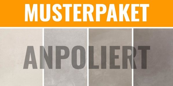 Musterpaket Margres tool anpoliert