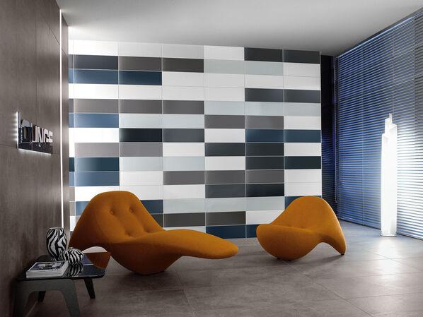 Die Farben von Villeroy & Boch Creative System 4.0 lassen sich kreativ zusammenstellen.