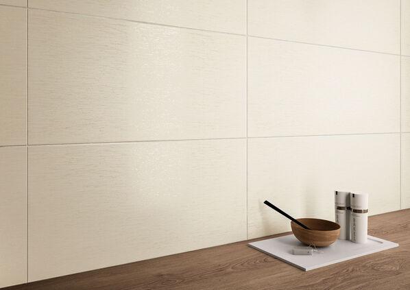 Die Serie Villeroy & Boch Houston Wall in der Farbe Beige.