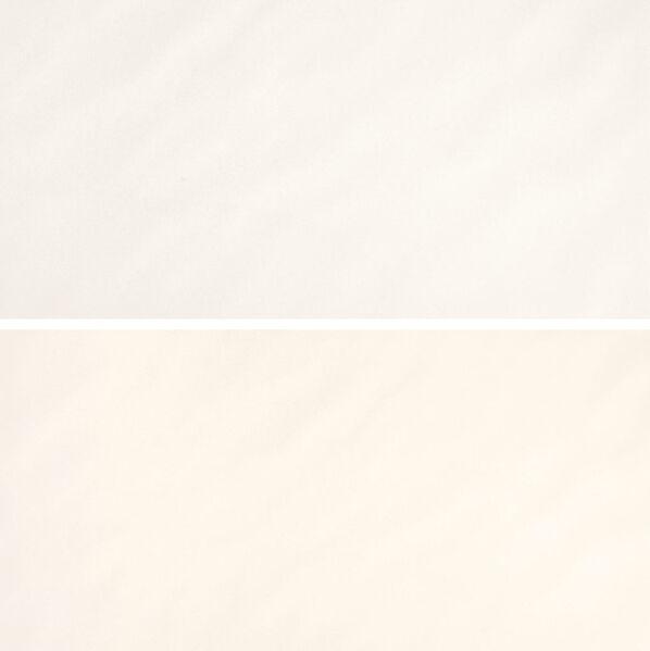 Die Farbe Weiß und die Farbe Creme der Serie Villeroy & Boch White & Cream.