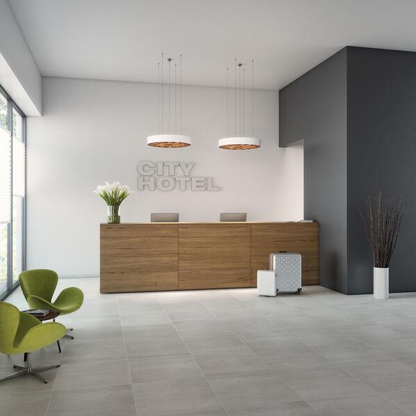 Ein grauer Farbton: Die Serie Unit Four von Villeroy & Boch kann warme und kühle Nuancen!