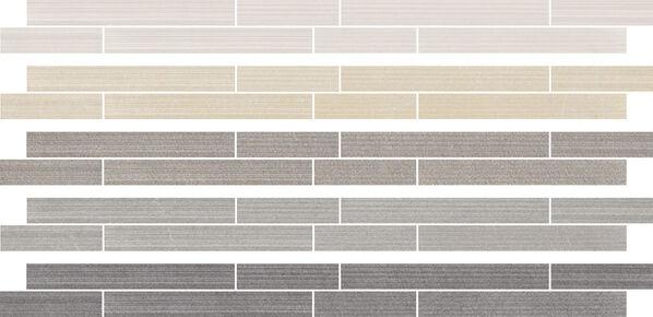 Die Bordüren von Villeroy & Boch Timeline für die Wände sind in allen Farben verfügbar.