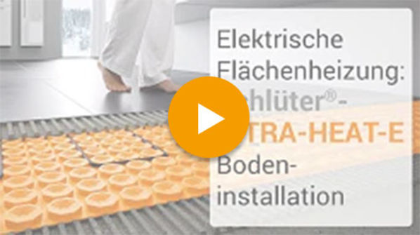 Schlüter Systems DITRA-HEAT-E Video