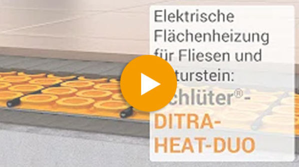 Schlüter Systems DITRA-HEAT-E-DUO Video