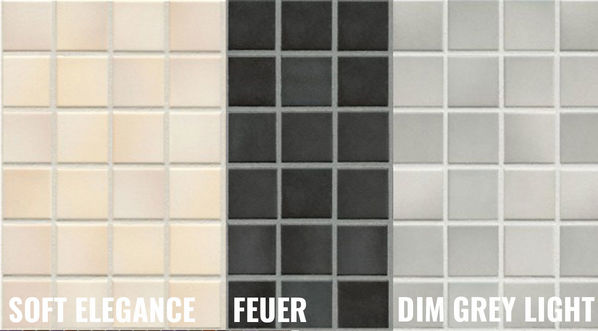 Jasba Colours Mosaike Soft Elegance, Feuer, Dim Grey Light