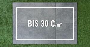 Bis 30 €/m²