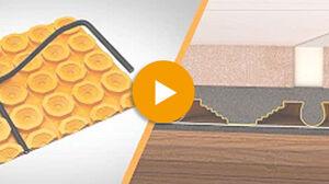 Anleitung Installation auf Holz: Youtube Video von Schlüter Systems zu DITRA-HEAT-E
