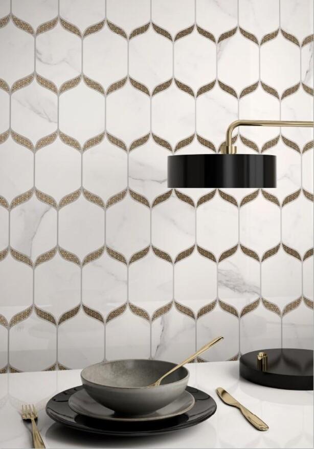 Nocturne von Villeroy & Boch überrascht mit einer Vielzahl von Dekoren und besonderen Designs, die jedem Raum ein exklusives und extravagantes Ambiente verschaffen.