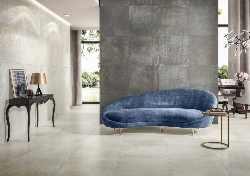 Stateroom von Villeroy & Boch überrascht mit modernen Tönen und einer brandaktuellen Betonoptik.