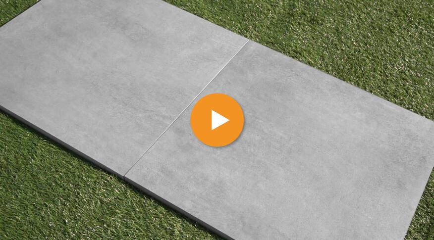 Terrassenplatten bis 200 €/m²   20cm Feinsteinzeug Outdoor Keramik
