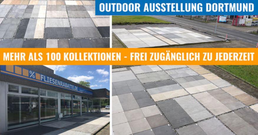 Terrassenplatten Dortmund Fliesenausstellung Dortmund