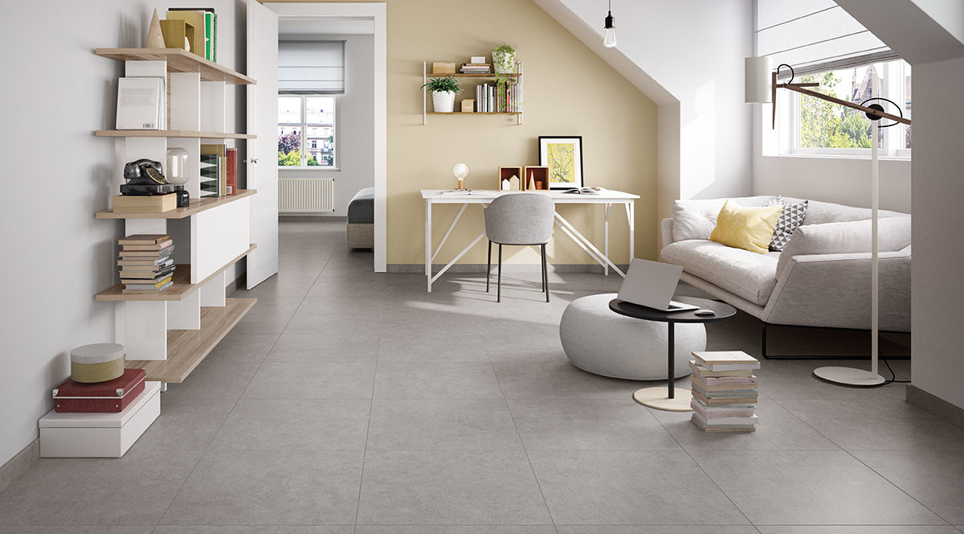 Villeroy & Boch Back Home Stone Grey 60x60