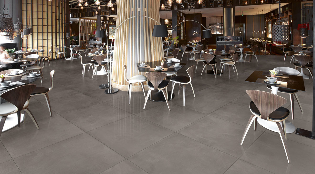 Margres Tool Grey 90x90 A Lappato anpoliert