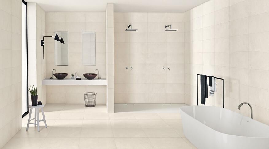 Margres Concept White 60x60 A und 30x60 NR
