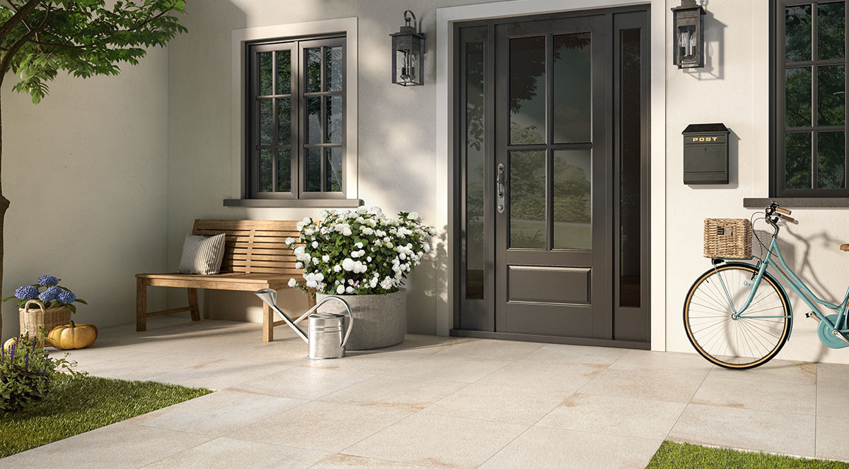 Villeroy & Boch Tucson Outdoor Hauseingang Zugang