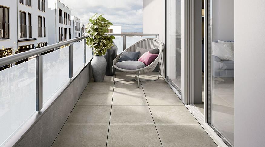 Villeroy & Boch Mineral Spring Outdoor Balkon