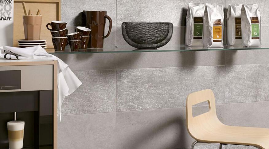 Steuler Beton Küche Detail Grau