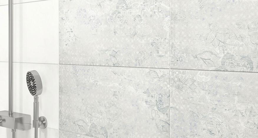 Steuler Mauerblume Detail Wandfliesen