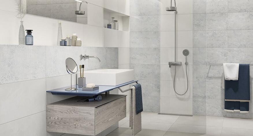 Steuler Mauerblume Badezimmer