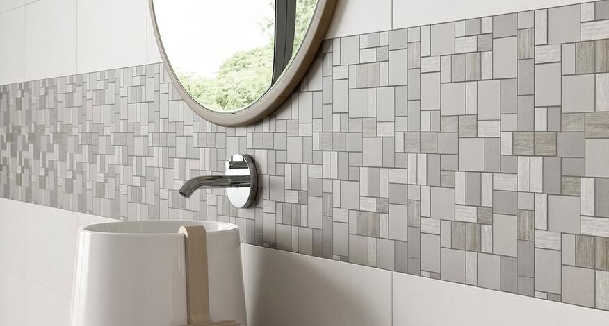 Steuler Mauerblume Bad Mosaik