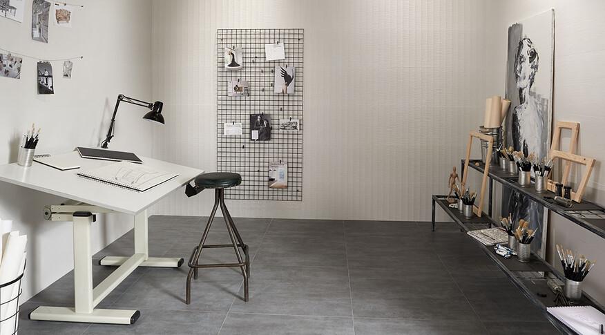 frame grafito 75x75 Arbeitszimmer