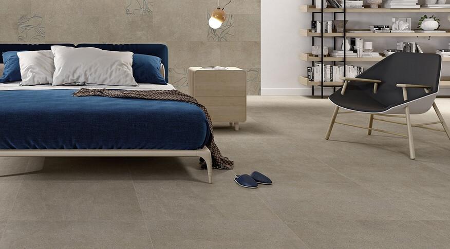 Steuler Fliesen Steinwerk Sahara Schlafzimmer