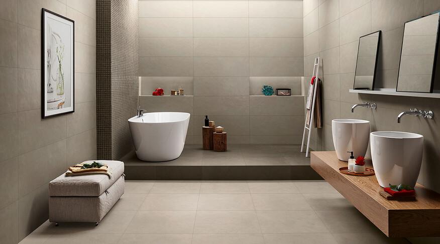 love tiles splash grey tortora wc