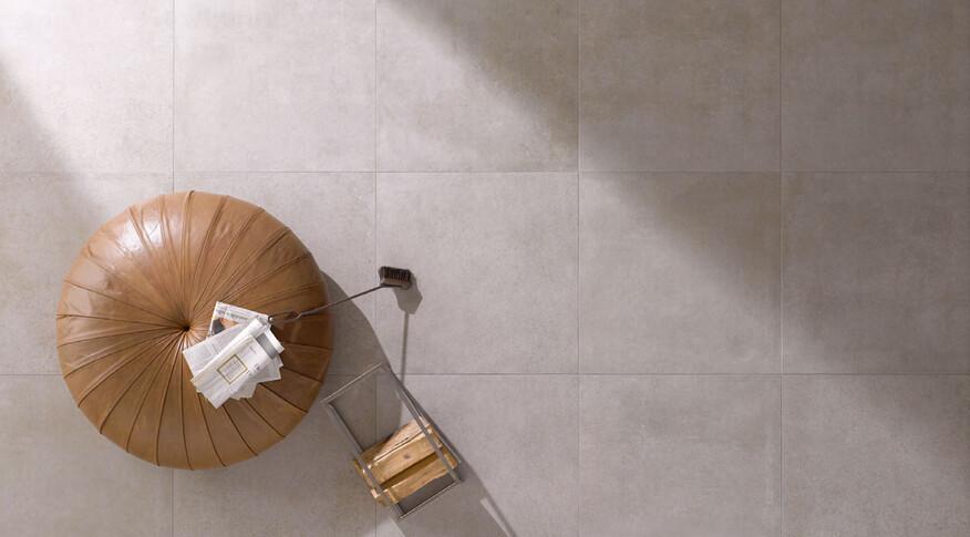 Steuler Beton Wohnraum Farbe Zement