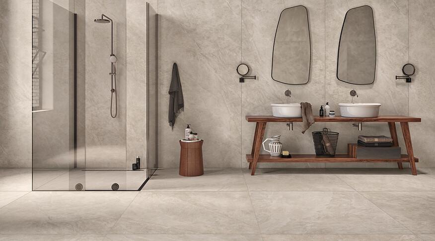 Steuler Kalmit Badezimmer Zement