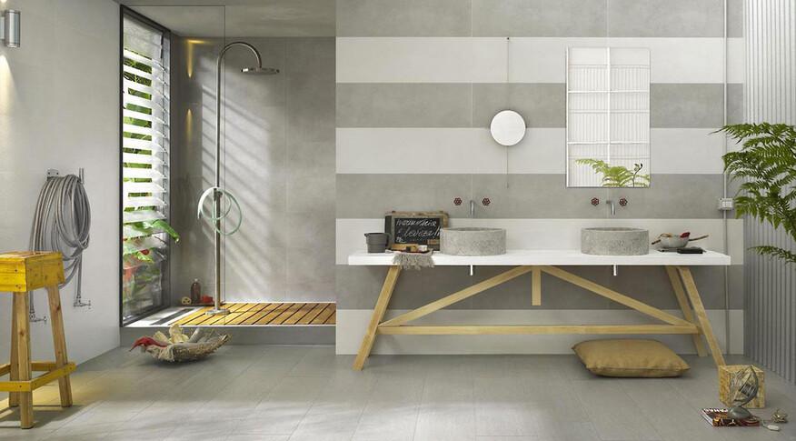 marazzi oficina7 32,5x97,7 bianco grigio