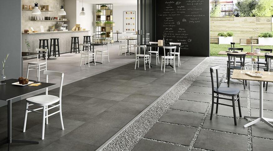 marazzi plaster grey rt 60x60 anthracite