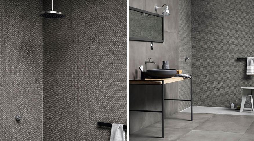 marazzi powder graphit 75x150, 30x30 mosaic