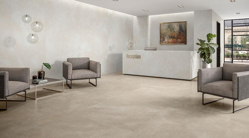 Villeroy & Boch Hudson Optima Clay und White Sand