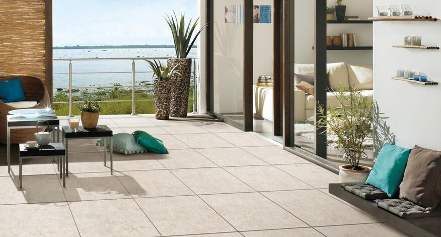 Agrob Buchtal Capestone kalkweiß 60x60