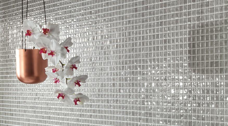 Jasba Amano hellgrau 2x2 Mosaik