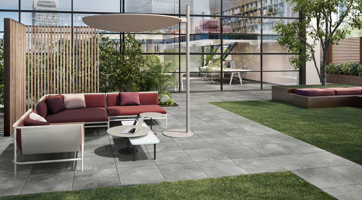 Villeroy & Boch Gateway Outdoor 60x60 Manhattan Grey