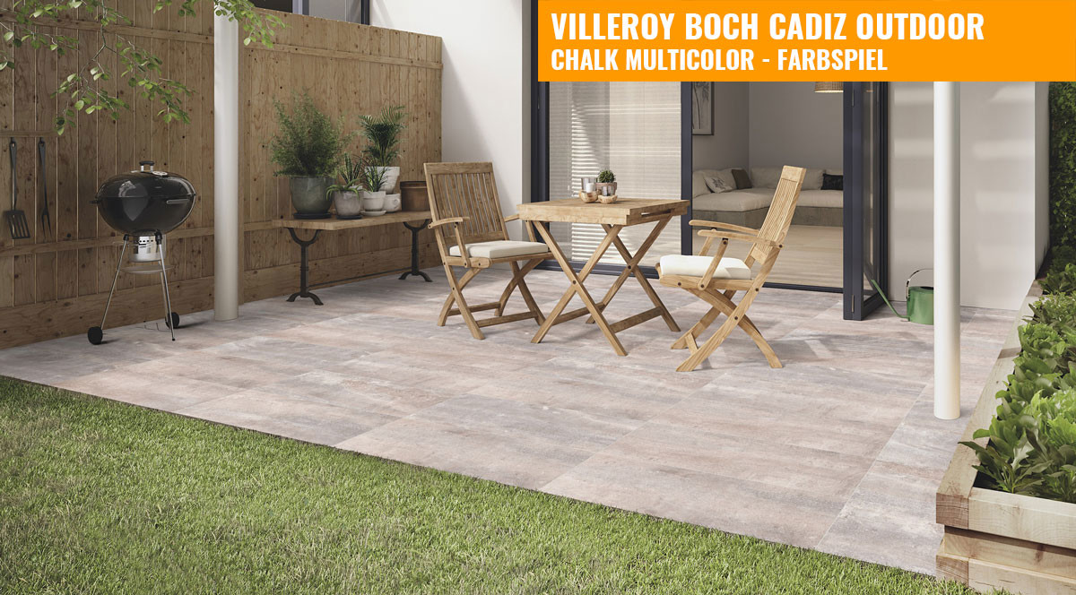 villeroy boch cadiz outdoor 40x80 chalk multicolor